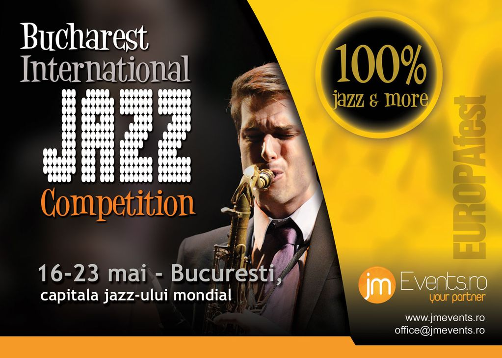 8 zile de 100% jazz EUROPAfest – Bucharest International Jazz Competition
