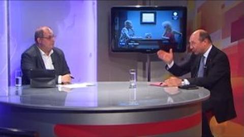 Traian Băsescu invitat la Ghilea Show (2014)
