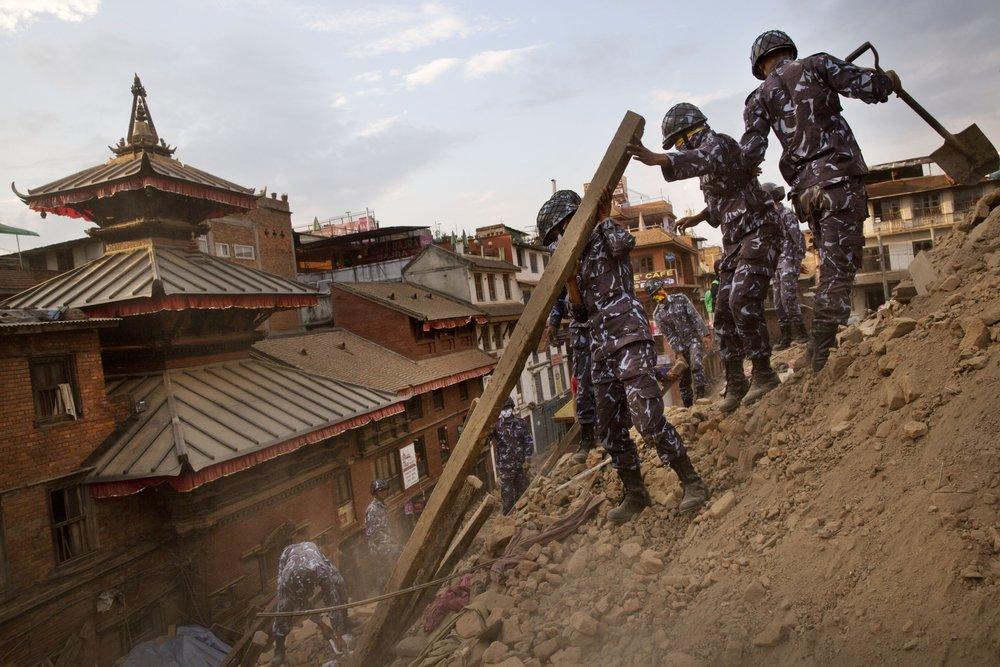 Un nou cutremur devastator în Nepal cu magnitudinea de 7,1