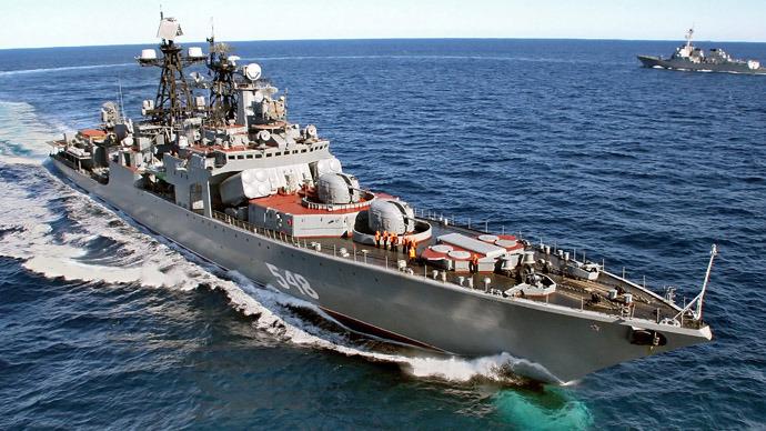 Rusia va construi nave militare proprii după eventuala anulare a contractului Mistral