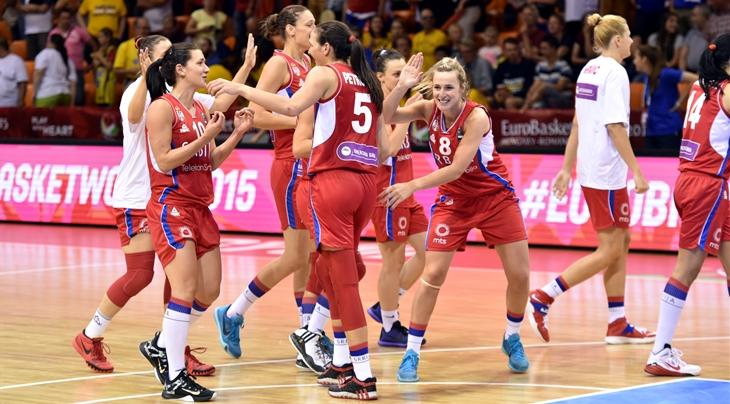 Baschet feminin: Serbia și Belarus, în semifinalele EuroBasket Women 2015