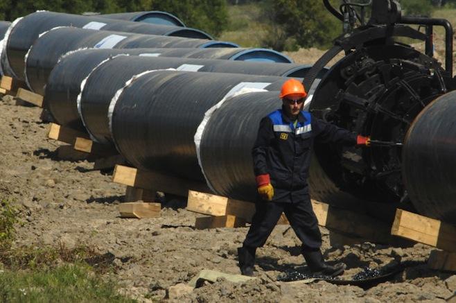 Gazprom ar putea construi singur prima linie a gazoductului Turkish Stream