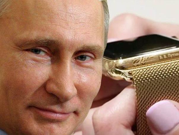 Smartwatch inspirat de Vladimir Putin, lansat în Rusia