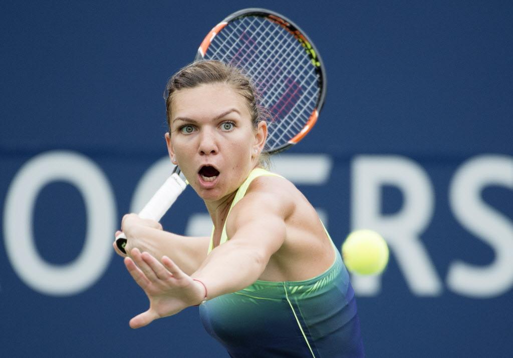 Simona Halep a ABANDONAT finala de la Toronto în setul decisiv