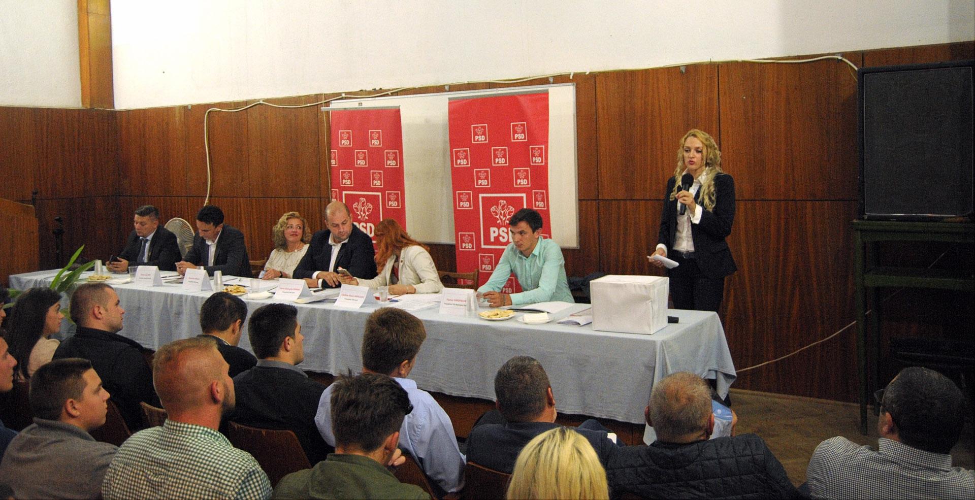 Conducere nouă pentru Organizația județeană de Pensionari a PSD și TSD Arad