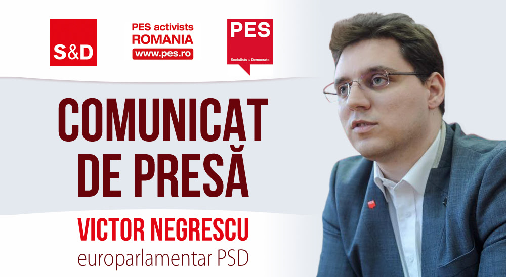 5,3 milioane de euro pentru industria românească, sectorul digital și cercetare – bani obținuți de europarlamentarul Victor Negrescu