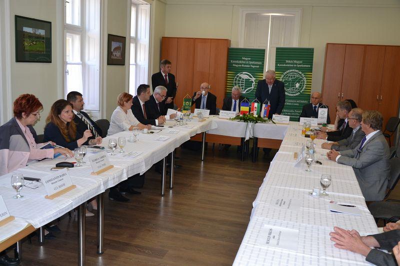 """CCIA Arad la """"Forumul Cameral Trilateral"""""""