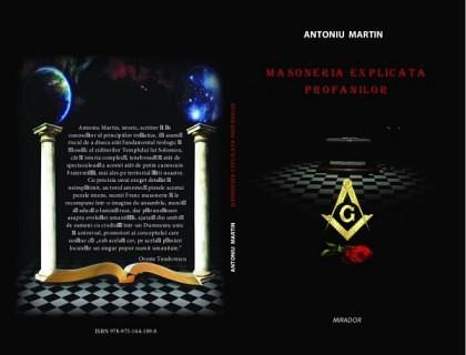 """Antoniu Martin lansează la Chişinău volumul ,, Masoneria Explicată Profanilor"""""""