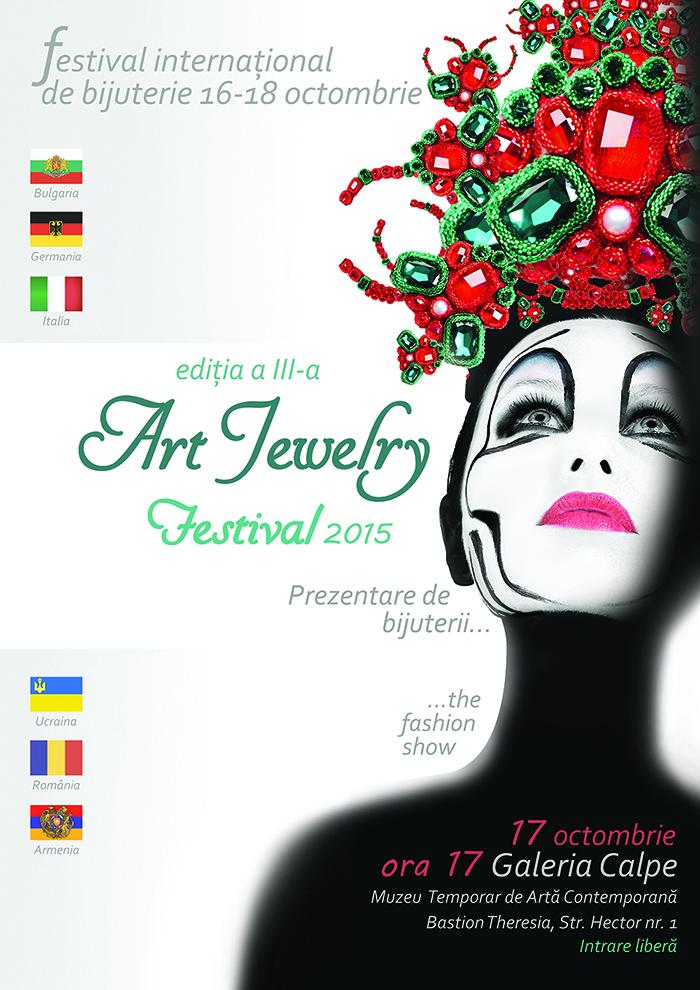 ART Jewelry Festival, editia a III-a Timisoara 16-18 octombrie
