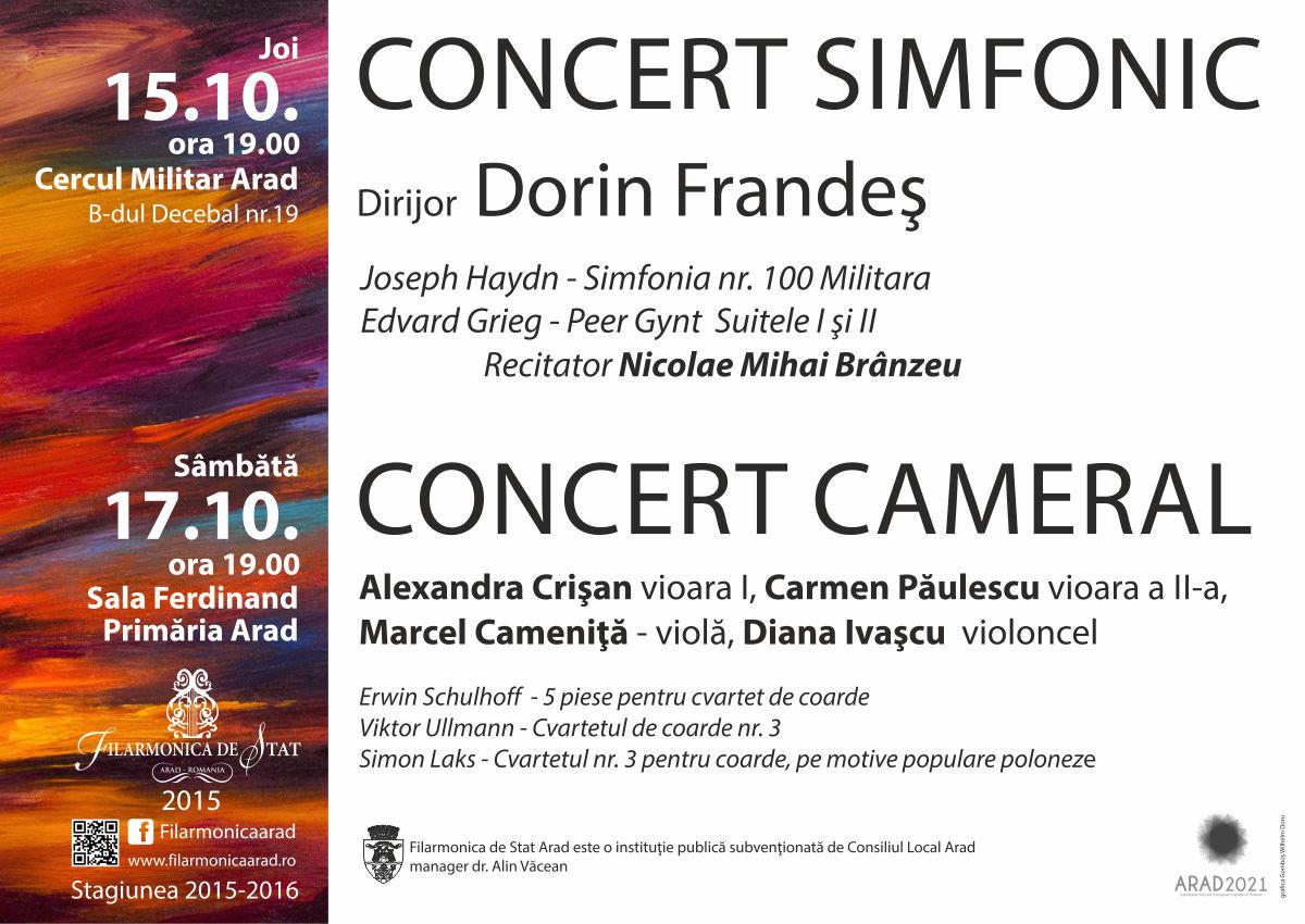 Concert simfonic sub semnul a două genii: Grieg și Ibsen