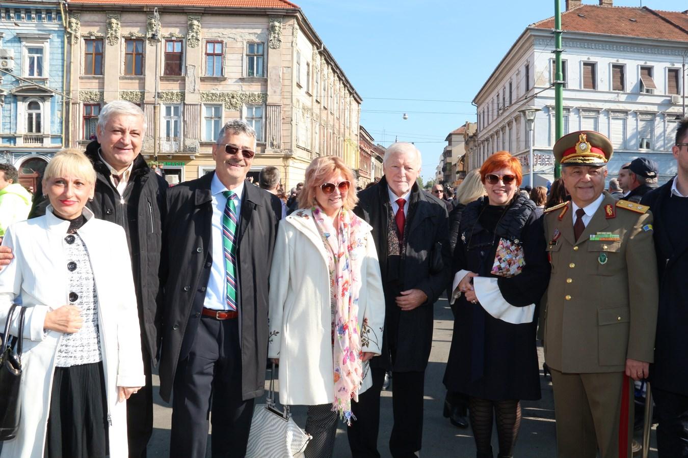 UVVG, prezentă la manifestările dedicate Zilei Armatei