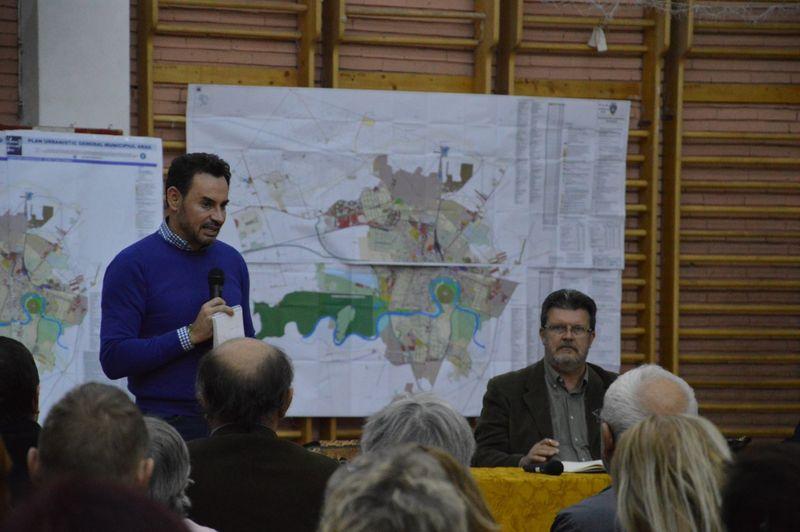 Prima dezbatere legată de actualizarea Planului Urbanistic General