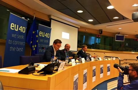 Primul Forum European al Tinerilor Parlamentari și Europarlamentari, organizat la Bruxelles de eurodeputatul Victor Negrescu