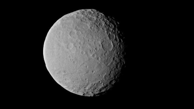 Planeta pitică Ceres ascunde un secret impresionant.