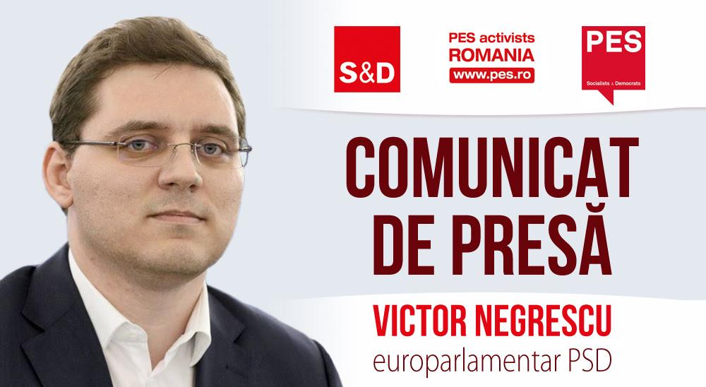 Victor Negrescu (PSD): Modernizarea regimului mărcilor la nivelul UE și campaniile de informare sunt o necesitate!