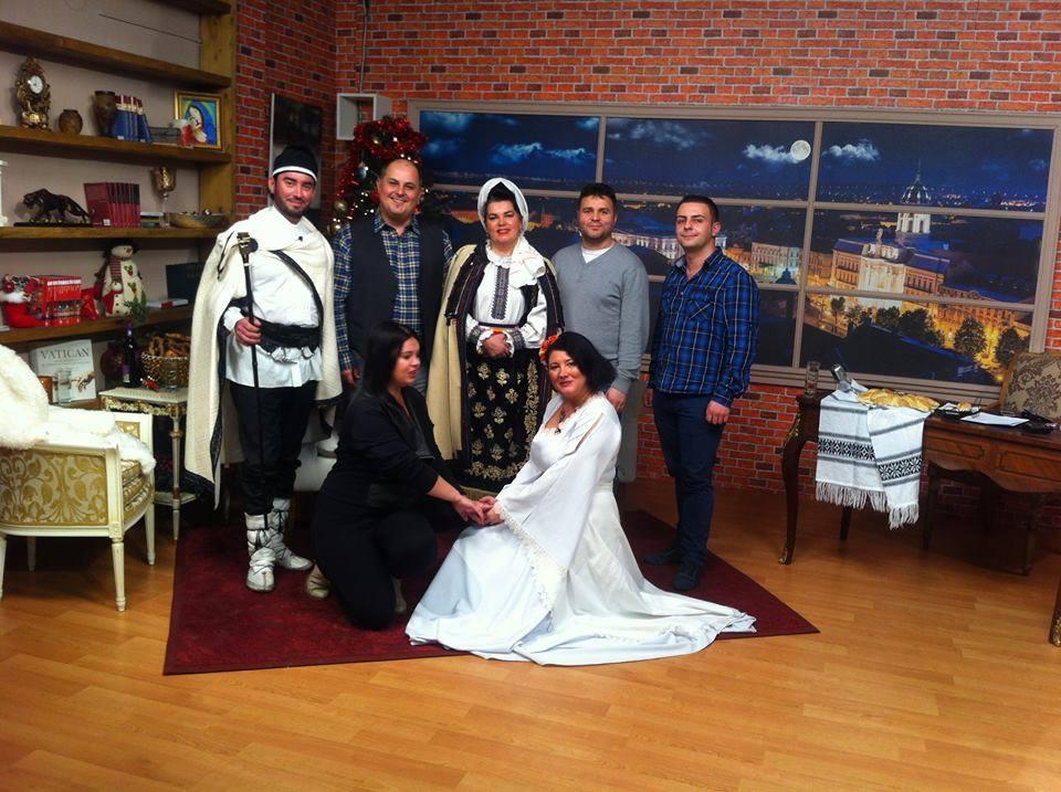 Dacii liberi la Ghilea show. Valentina, Florin Muresan si Ana Almasana