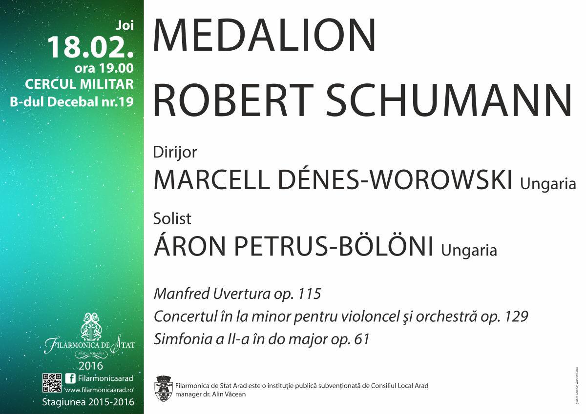 Filarmonica de Stat Arad : Medalion Robert Schumann