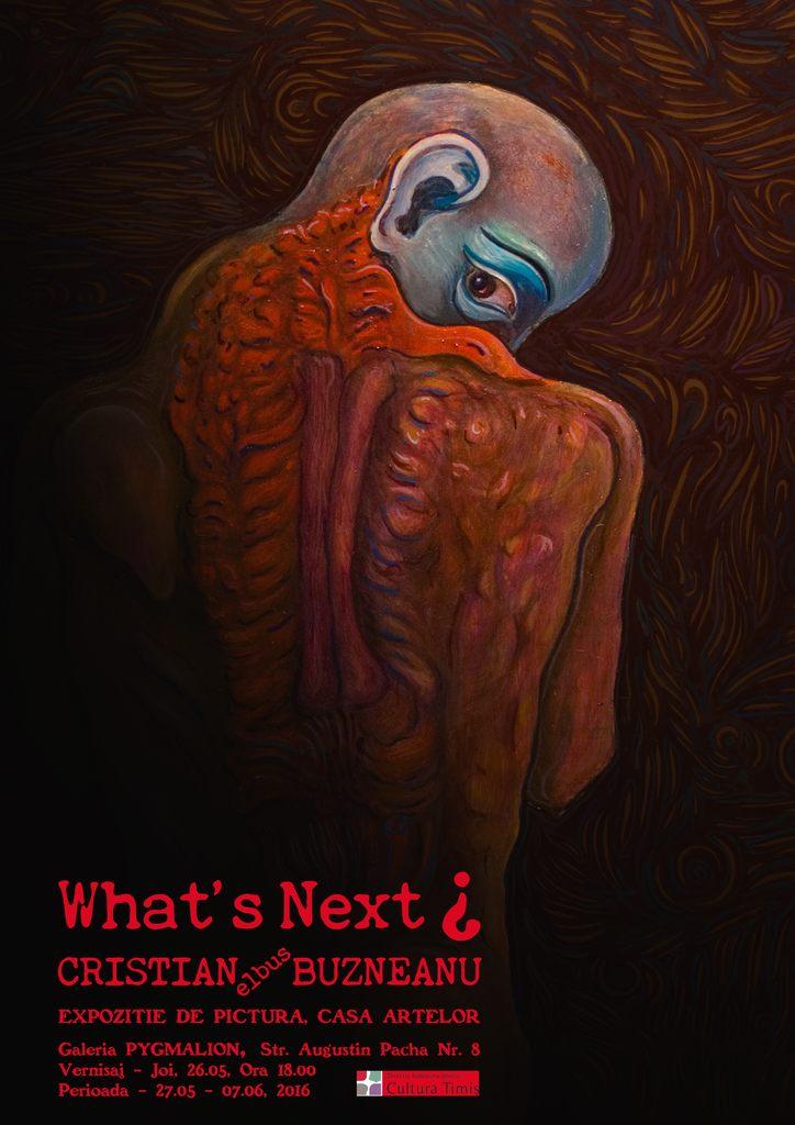 What's next? – expoziție semnată Cristian Buzneanu
