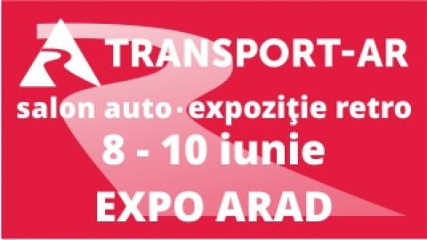 TRANSPORT AR, revine în 8-10 iunie la EXPO ARAD
