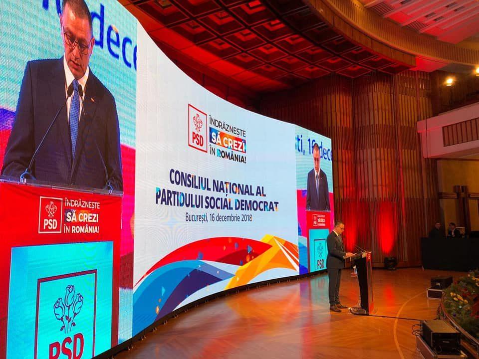 """Mihai Fifor, preşedintele Consiliului Naţional al PSD : """"Suntem mulți, suntem bine pregătiți, suntem puternici!"""""""