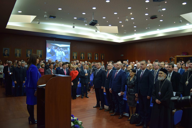 """Întâlnirea rectorilor din țară, la Universitatea """"Aurel Vlaicu"""" din Arad"""