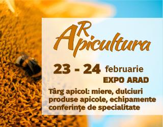 ARpicultura între 23-24 februarie, la EXPO Arad